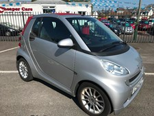 Smart Fortwo 1.0mhd (71bhp) Passion Cabriolet 2d 999cc Softouch