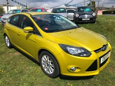 Ford Focus 1.6TDCi (115ps) Titanium Hatchback 5d 1560cc
